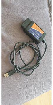OBD 2 II INTERFACE USB