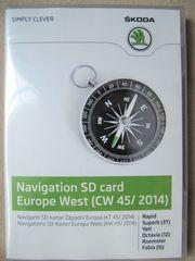 Neu org verpackt Navigations SD-Karte -