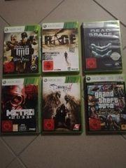 diverse XBOX 360 Games je