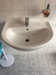 Waschbecken weiss Bad 60 x