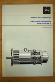 Betriebsanleitung Elektromotor WSM u WSM