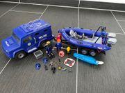 Playmobil Polizei mit Boot und