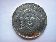 3 Peso Münze Kuba 1992