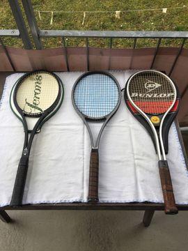 Tennis, Tischtennis, Squash, Badminton - Tennisschläger 3 Stück Fischer Snauwaert