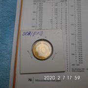D-Mark 10 Pfennig 1971 D
