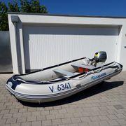 Schlauchboot VIAMARE 380 Airdeck Honda