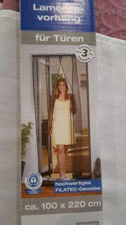 Lamellenvorhang für Türen