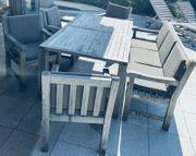 GARPA Gartentisch 4 Gartenstühle
