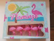 Lichterkette Flamingo NEU