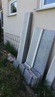 Granit Fensterbänke Aussenbereich gebraucht