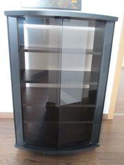 1 HiFi-Schrank schwarz