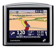 TomTom One Navigationsgerät mit Western