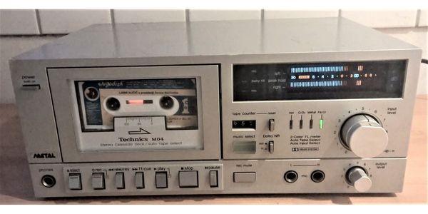 Technics RS-M04 Kassettenrekorder