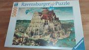 Puzzle 5000 Teile eine Herausforderung