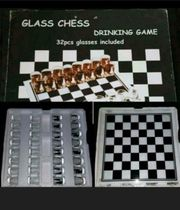 Drinking Game Glass Chess