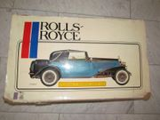 Pocher Model Rolls Royce II