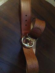 Original Gucci Ledergürtel
