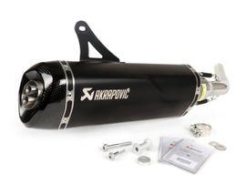 Motorrad-, Roller-Teile - Akrapovic Black Edition 2020 Vespa