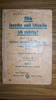 Deutsches Sprachbuch antik