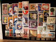 Große Briefmarkensammlung postfrischer und gestempelter