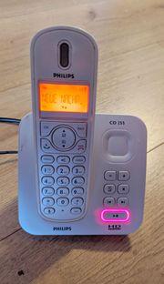 Philips CD255 Schnurlostelefon Festnetz DECT