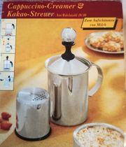EDUSCHO Cappuccino Creamer mit Kakao-Streuer