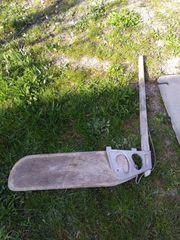 Schwert Finne Ruder von einer