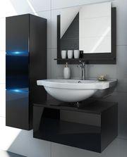 Badezimmermöbel Badmöbel Badeschrank Badezimmerschrank Hochglanz