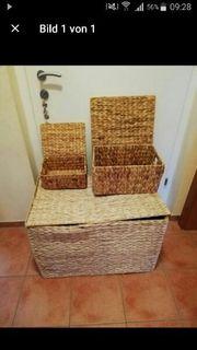 3 Teiliges Wäschekorb