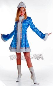 Kostüm Anzug Tracht Schneemädchen Eiskönigin