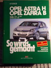 Reparaturbuch Opel Zafira von 7