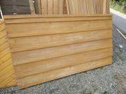 Garagentor aus Holz massiv