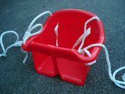 Kinderschaukel Babyschaukel Sitz aus Kunststoff