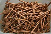 500 g Kupfer- Rinneisennägel- Stifte