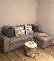 Couch Bettsofa IKEA VILASUND