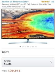 smart tv von Samsung