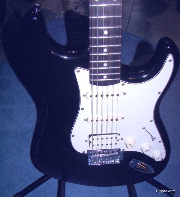 Verkaufe E-Gitarre von Stagg S402