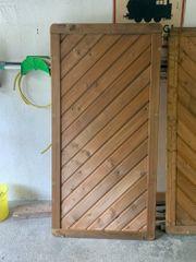 Sichtschutzelement Holz 90x180 cm