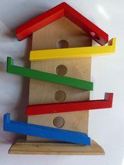 Murmelspiel aus Holz auch zu