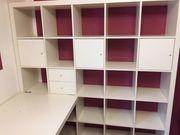 Büro-Regal mit abnehmbarem Schreibtisch