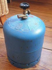 Gasflasche Campingaz R 907 halb