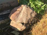 Quellstein für Gartenteich Granit