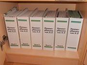 Bücher Buchband Sammelordner über Zimmerpflanzen