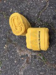 Elastische Boxbandagen gelb Billyblanks oder