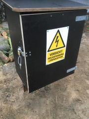 Baustromanschluss Schutzkasten