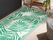 Outdoor Teppich grün 60 x