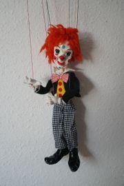 Pelham Puppets Marionette Clown Bimbo