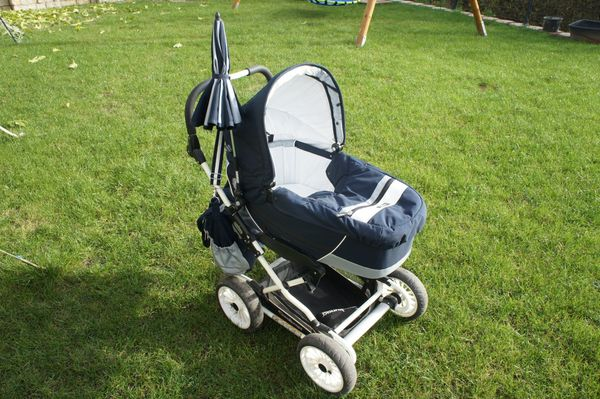 Emmaljunga City Cross Kinderwagen Babywanne