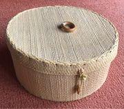 Omas Nähkästchen gefüllt 24cm Durchmesser