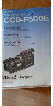 Sony Camera CCD F 500
